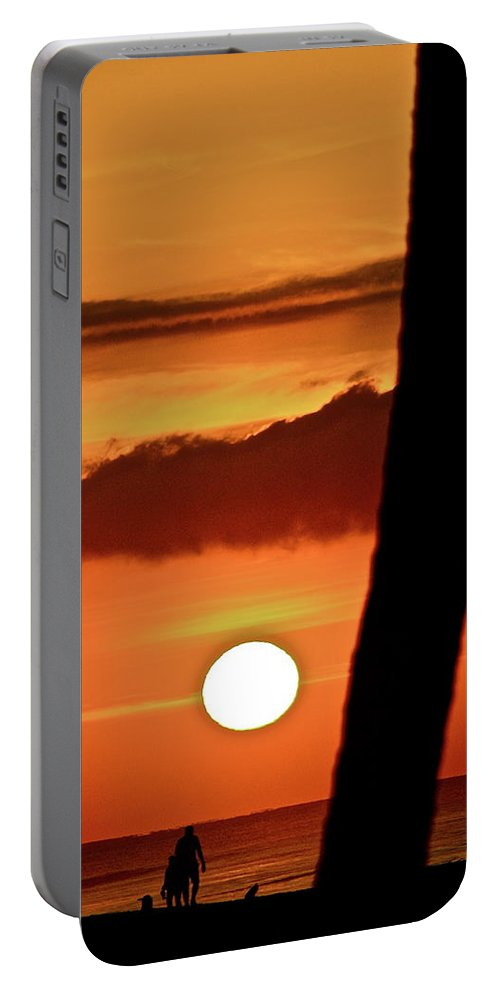 Sun Portable Battery Charger featuring the photograph Beautiful Baja by Diana Hatcher