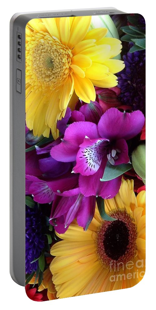 Beautiful Bouquet Portable Battery Charger featuring the photograph Beautiful Bouquet by By Divine Light