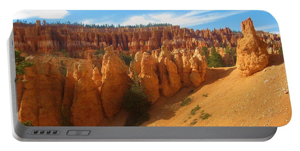 Bryce Portable Battery Charger featuring the photograph Beautiful Bryce Canyon by Eric Fellegy