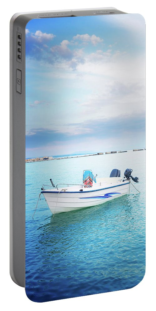 Zakynthos Portable Battery Charger featuring the photograph Greek Islands by Anastasy Yarmolovich