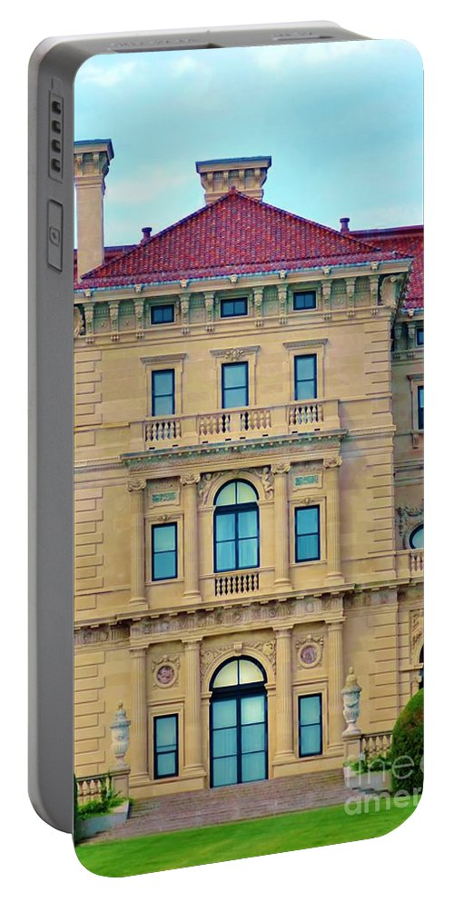 House Portable Battery Charger featuring the photograph Beautiful Villa by Kathleen Struckle