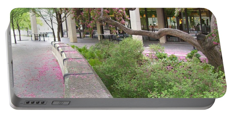 Nature Portable Battery Charger featuring the photograph Beauty In Spring by Mary Mikawoz