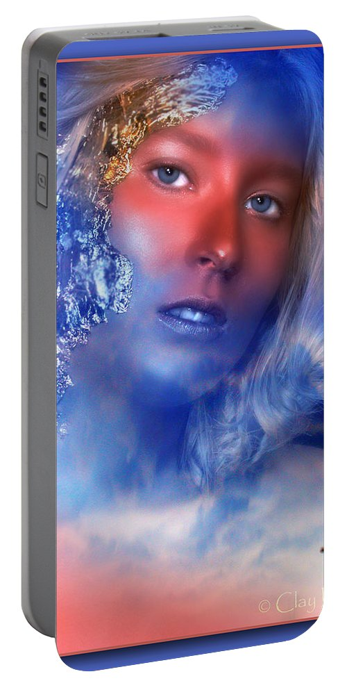Clay Portable Battery Charger featuring the photograph Beauty In The Clouds by Clayton Bruster