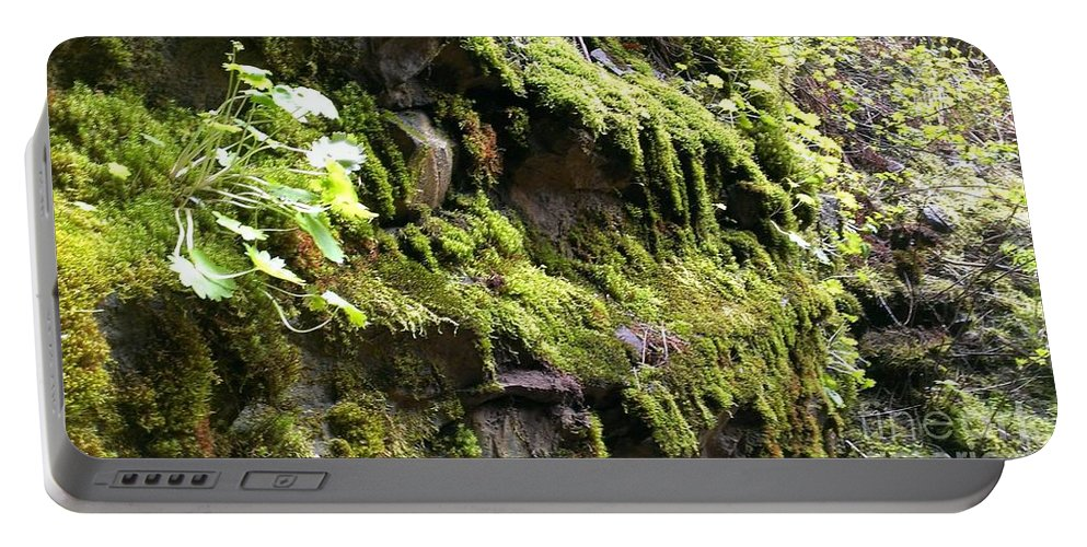 Moss Portable Battery Charger featuring the photograph Beauty In The Northwest by LKB Art and Photography