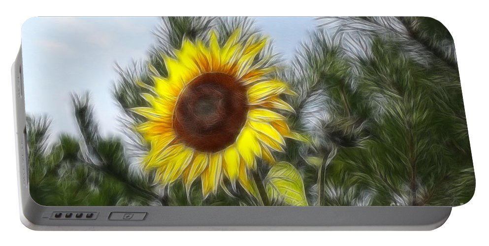 Fratalius Portable Battery Charger featuring the photograph Beauty In The Pines by Deborah Benoit