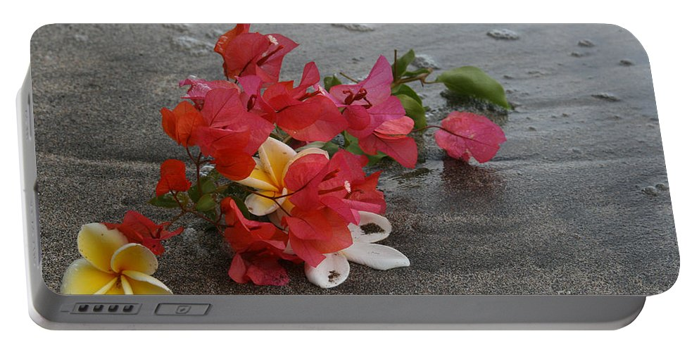 Aloha Portable Battery Charger featuring the photograph Beauty Is Eternally Free by Sharon Mau