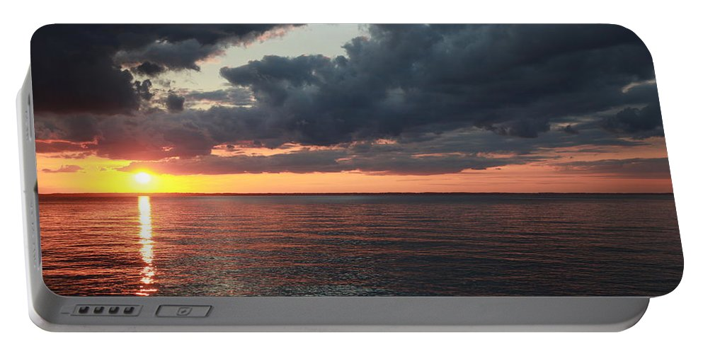 Sunrise Portable Battery Charger featuring the photograph Beauty Of The Sunrise by Deborah Starobin-Armstrong