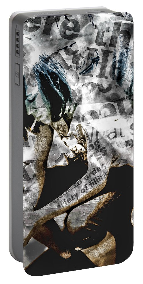 Teens Portable Battery Charger featuring the photograph Being 17 by Kristie Bonnewell