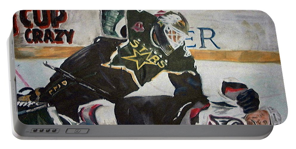 Belfour Portable Battery Charger featuring the painting Belfour by Travis Day