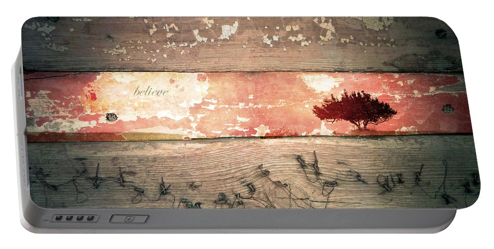 Believe Portable Battery Charger featuring the photograph Believe by Tara Turner
