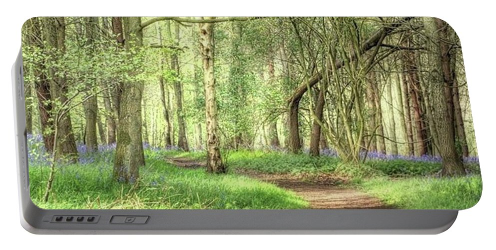 Nature Portable Battery Charger featuring the photograph Bentley Woods, Warwickshire #landscape by John Edwards