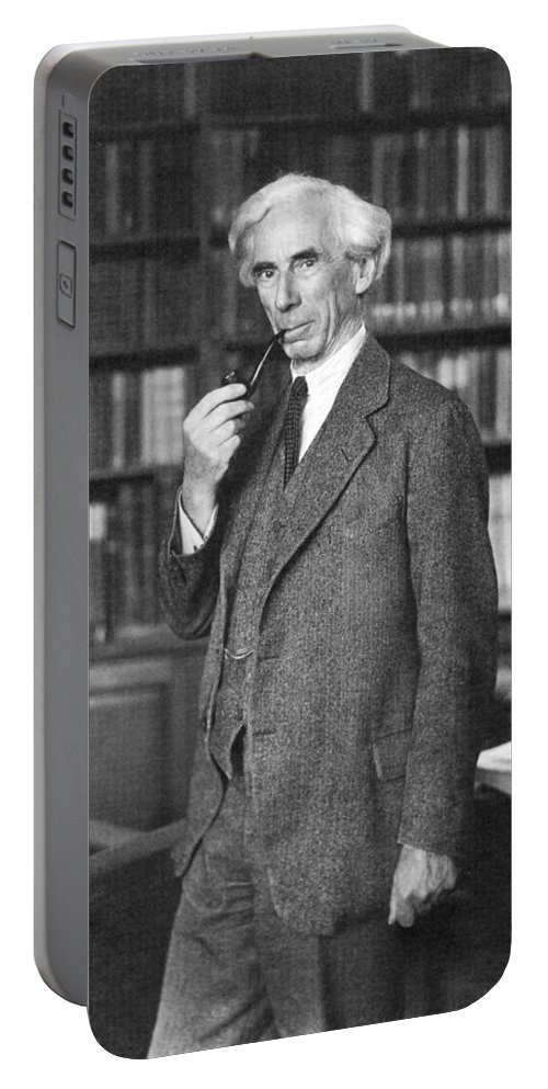 1935 Portable Battery Charger featuring the photograph Bertrand Russell by Granger