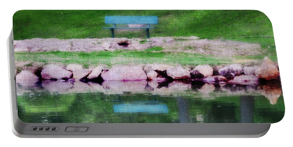 Krug Park Portable Battery Charger featuring the photograph Beside Still Waters by Kim Blaylock