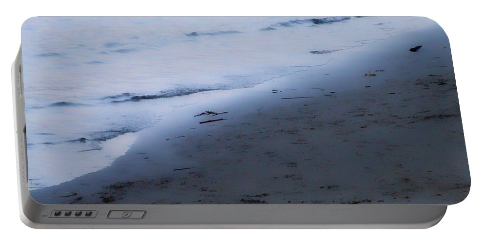 Beach Portable Battery Charger featuring the photograph Between Light And Shadow by Donna Blackhall