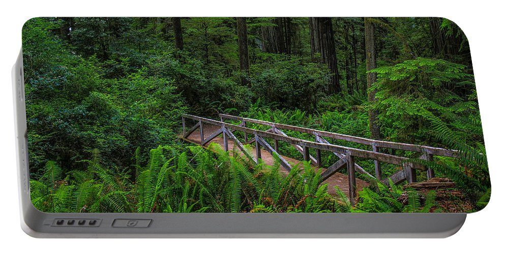 Bridge Portable Battery Charger featuring the photograph Beyond The Bridge by Michele James
