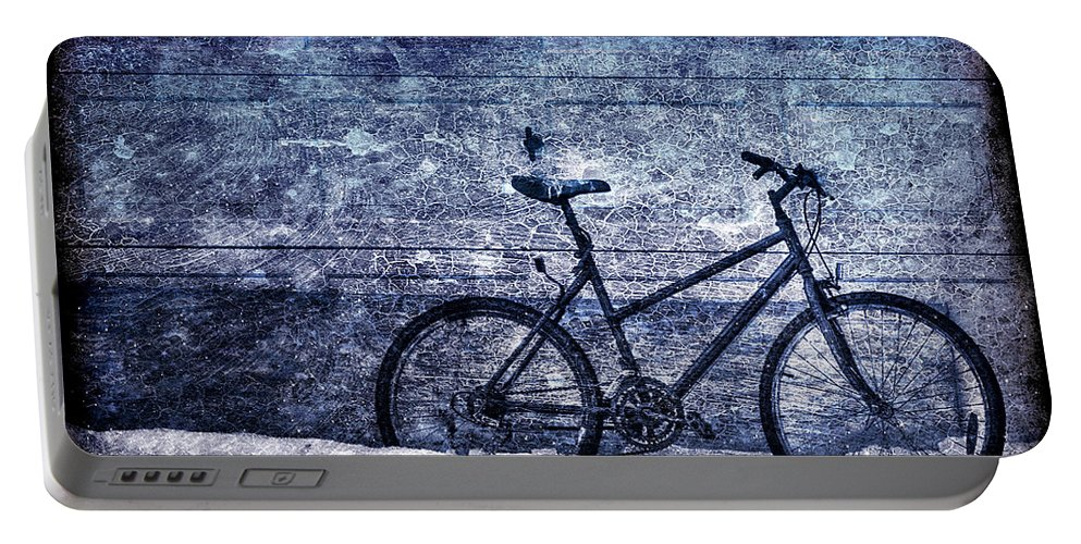 Bicycle Portable Battery Charger featuring the photograph Bicycle by Evelina Kremsdorf
