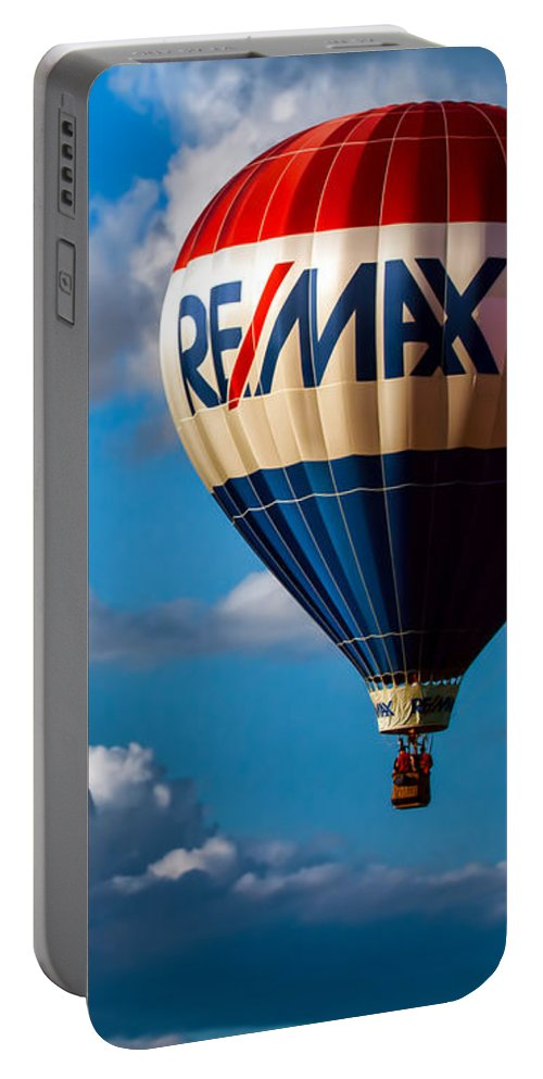 Portable Battery Charger featuring the photograph Big Max Re Max by Bob Orsillo