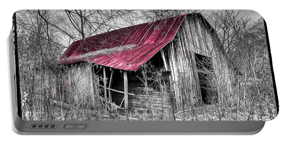 Andrews Portable Battery Charger featuring the photograph Big Red by Debra and Dave Vanderlaan