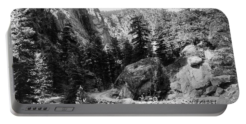 1910 Portable Battery Charger featuring the photograph Big Thompson Canyon by Granger