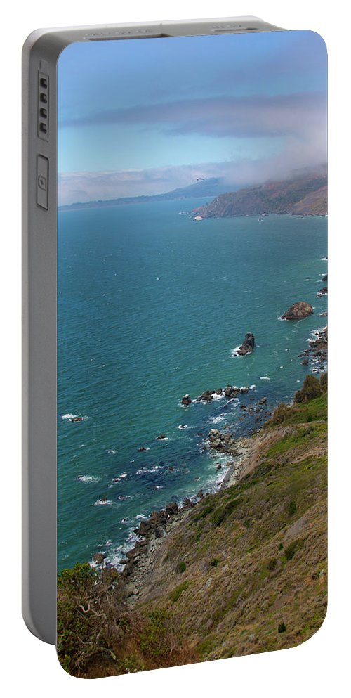 Muir Lookout Portable Battery Charger featuring the photograph Bird High by Susan Wright