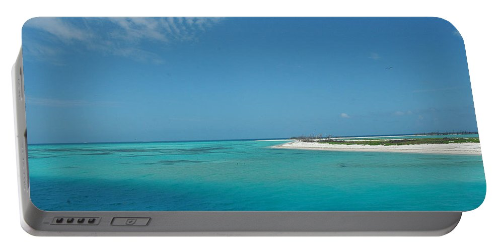 Photography Portable Battery Charger featuring the photograph Bird Island by Susanne Van Hulst