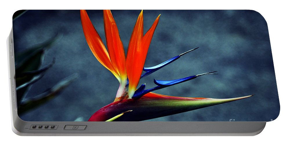 Clay Portable Battery Charger featuring the photograph Bird Of Paradise by Clayton Bruster