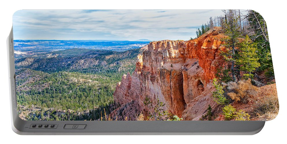 Landscape Portable Battery Charger featuring the photograph Black Birch Canyon by John M Bailey