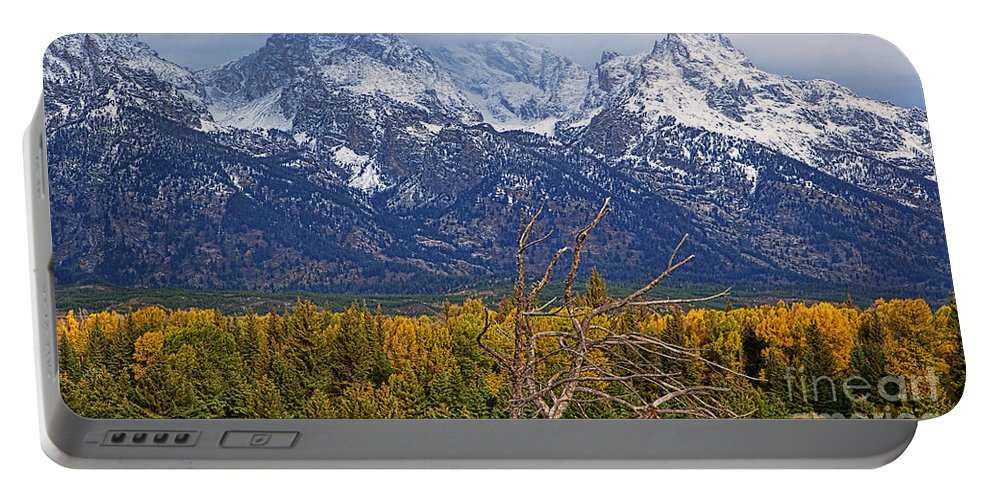 Landscape Portable Battery Charger featuring the photograph Blacktail Sunday Morning by Jim Garrison