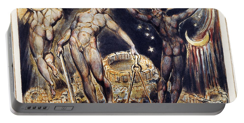 1804 Portable Battery Charger featuring the photograph Blake: Jerusalem, 1804 by Granger