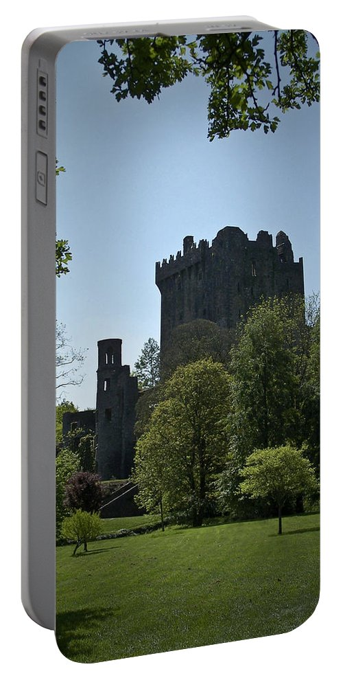 Irish Portable Battery Charger featuring the photograph Blarney Castle Ireland by Teresa Mucha