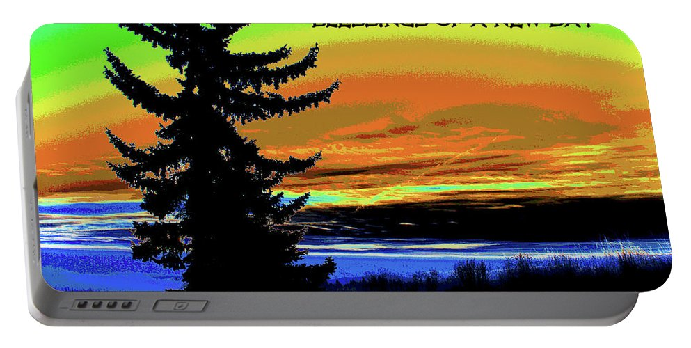 Sunrise Portable Battery Charger featuring the photograph Blessings Of A New Day 2 by Ben Upham III