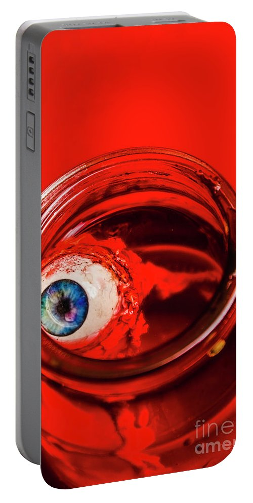 Paranormal Portable Battery Charger featuring the photograph Blind Fear by Jorgo Photography - Wall Art Gallery