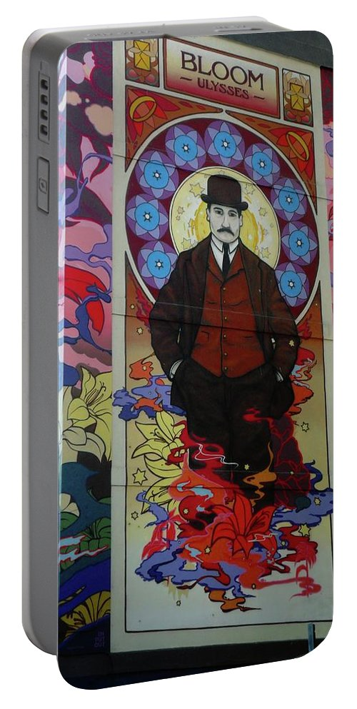 Leopold Bloom Portable Battery Charger featuring the photograph Bloom by John Hughes