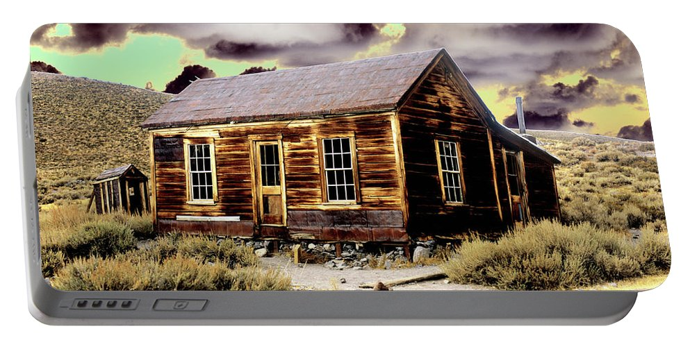 Bodie Portable Battery Charger featuring the photograph Bodie House by Jim And Emily Bush