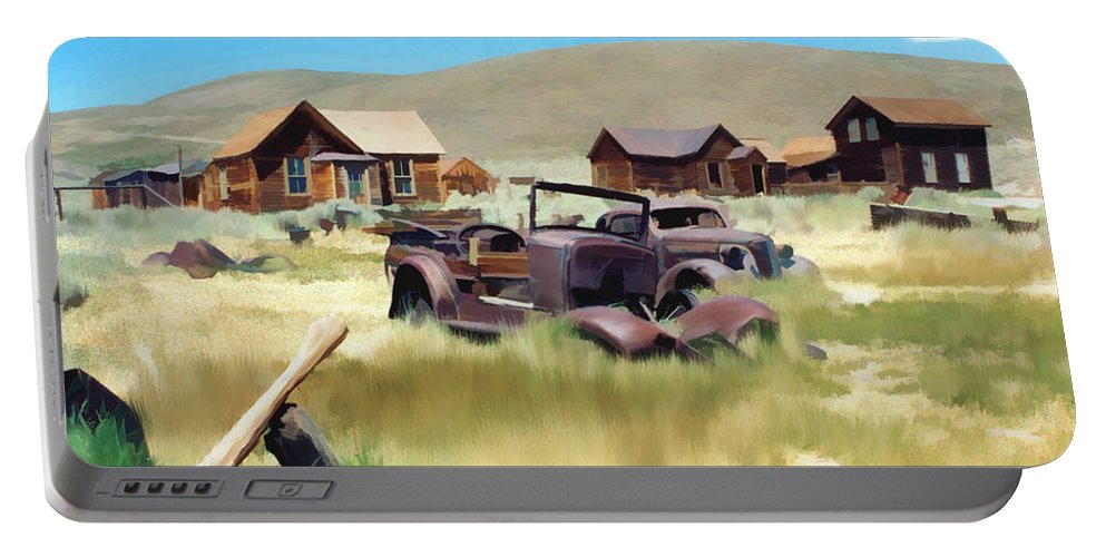 Bodie Portable Battery Charger featuring the photograph Bodie by Kurt Van Wagner