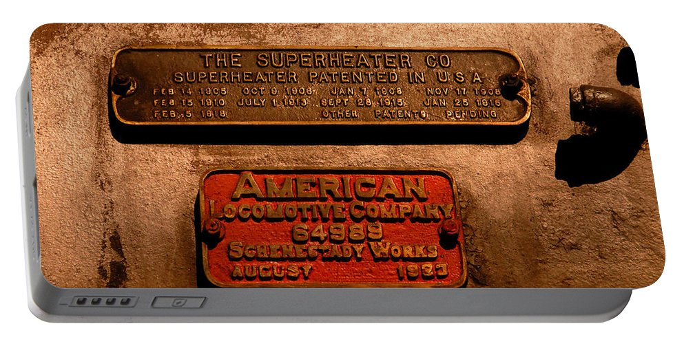 Boilerplate Plate Portable Battery Charger featuring the photograph Boilerplates by David Lee Thompson