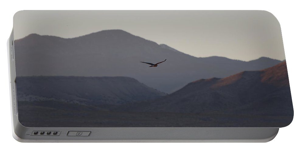 Bosque Del Apache Portable Battery Charger featuring the photograph Bosque Del Apache 3 by Ingrid Smith-Johnsen