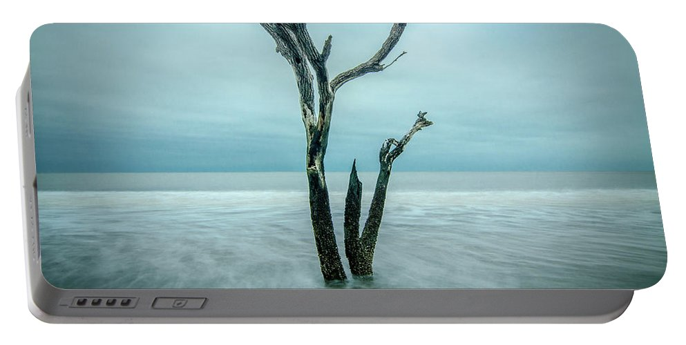 Landscape Portable Battery Charger featuring the photograph Botany Bay Plantation Edisto Island Sc by Robert Stephens