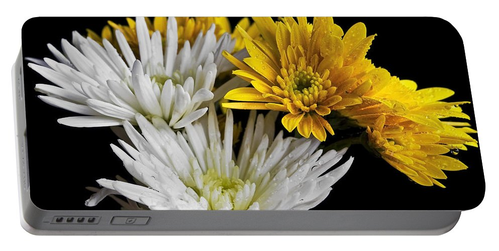 Flowers Portable Battery Charger featuring the photograph Bouquet by Svetlana Sewell