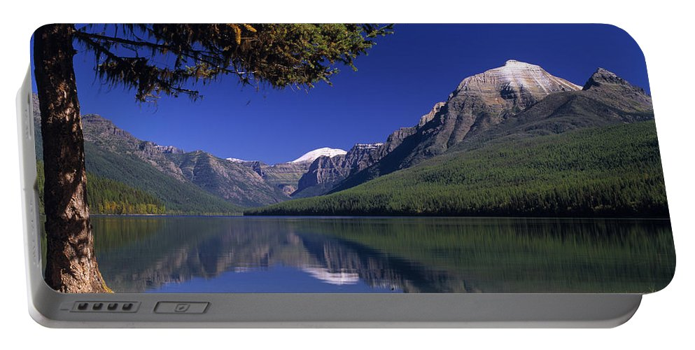 Bowman Lake Portable Battery Charger featuring the photograph Bowman Lake by Leland D Howard