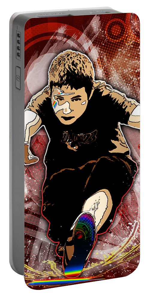3d Portable Battery Charger featuring the digital art Boy by Svetlana Sewell