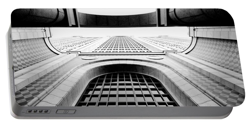 City Portable Battery Charger featuring the photograph Boylston by Greg Fortier