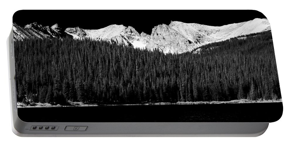 Brainard Lake Portable Battery Charger featuring the photograph Brainard Lake - Indian Peaks by James BO Insogna