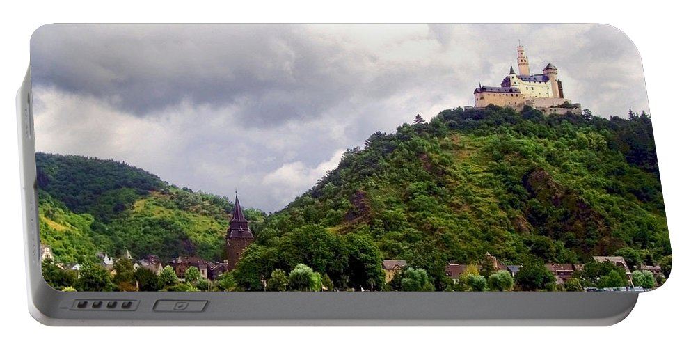 Brambach Portable Battery Charger featuring the photograph Brambach Germany by Joan Minchak