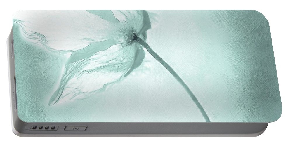 Flower Portable Battery Charger featuring the painting Breeze by Jacky Gerritsen