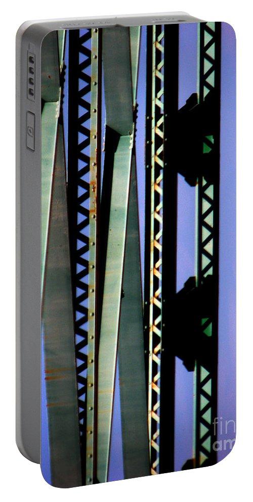 Bridge Portable Battery Charger featuring the photograph Bridge by Amanda Barcon