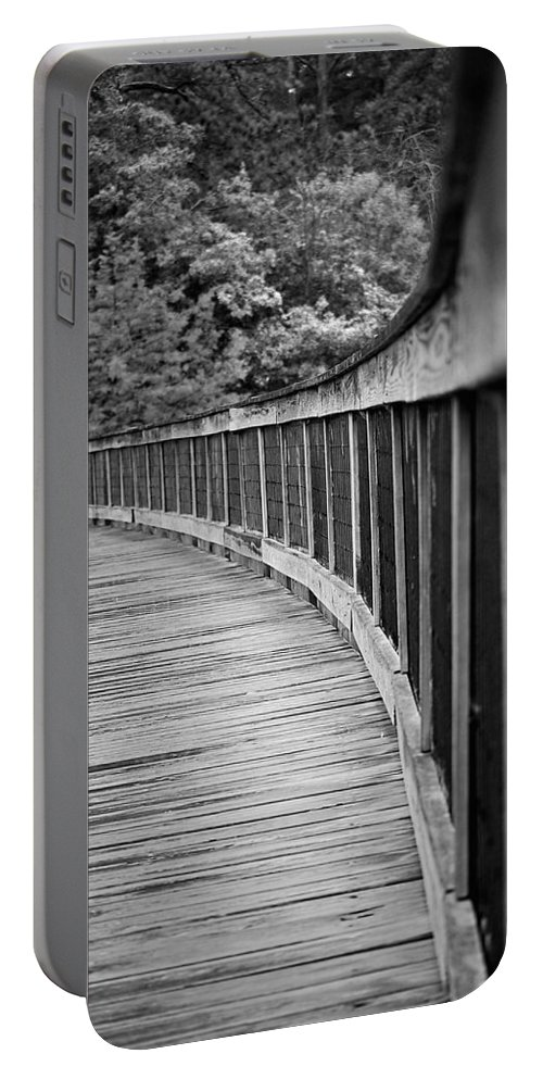 Bridge Portable Battery Charger featuring the photograph Bridge At Calloway II by Robert Meanor