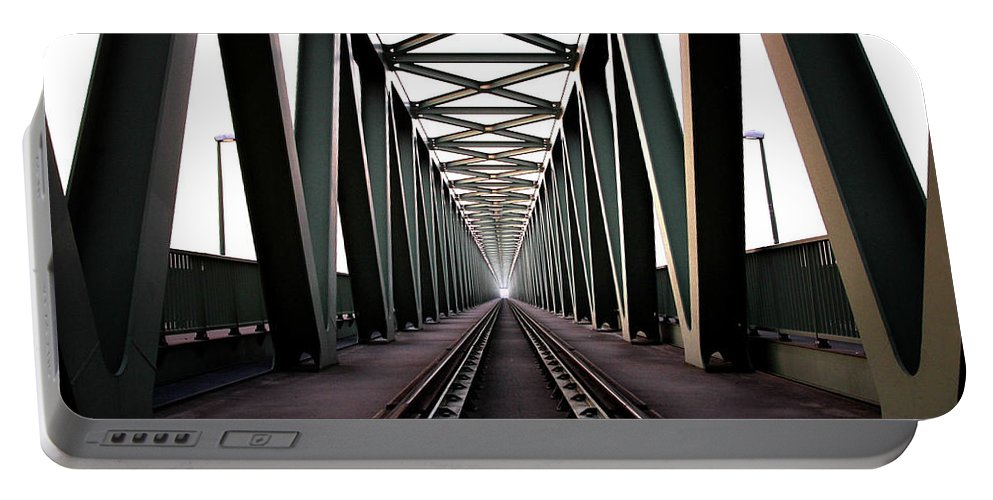 Bridge Portable Battery Charger featuring the photograph Bridge by Zoltan Toth