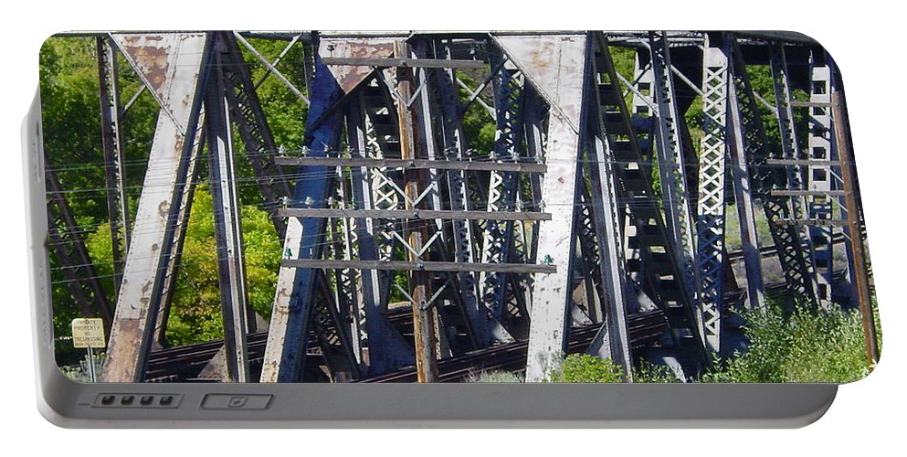 Bridge Portable Battery Charger featuring the photograph Bridges by Pat Turner
