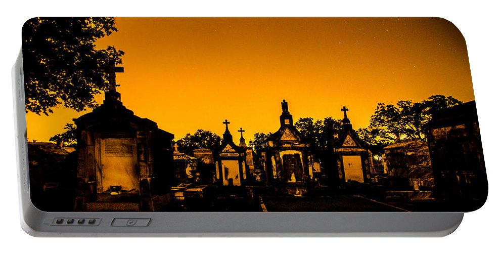 New Orleans Portable Battery Charger featuring the photograph Bright Night by Angus Hooper Iii